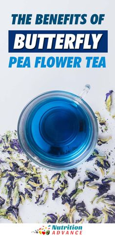 Butterfly pea flower tea is the most unique looking tea in the world. Here is a full guide to this exciting drink and its potential benefits. Tea Cocktails, Tea Drinks, Beverages, Butterfly Pea Flower Tea, Tea Varieties, Green Tea Latte, Iced Tea Recipes, Flower Food, Matcha Green Tea