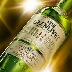The Glenlivet Single Malt Scotch Whisky - 12 years of age.
