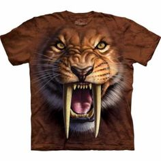 Camiseta Dientes de Sable