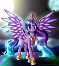 Princess Twilight Sparkle by LeffenKitty on DeviantArt