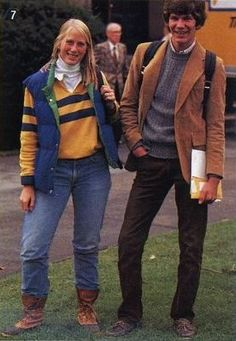 A Trip Down South: A whole lotta 80's preppy goodness Yup, pretty sure I have that winter outfit...