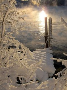 Stunning Views: Winter reflections near Trondheim, Norway