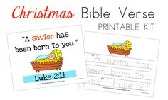 Christmas Bible Verse Kit
