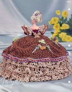 Calendula Annie's Glorious Gowns Flower Garden Collection Crochet Patterns | eBay