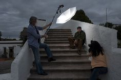 A great example of when you hire a photographer for shots in the field, why they need to bring along an assistant....   dHobby_Tues009.jpg by strobist, via Flickr