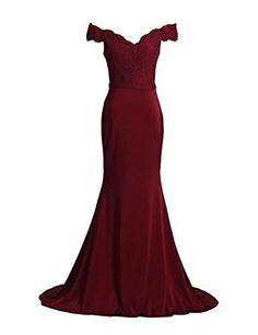 Prom Dresses Spandex Off The Shoulder Long Evening Dress
