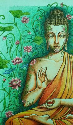"""Memories are meant to serve you, not enslave you."" ~ A.J. Darkholme * Buddha, detail by carodomo.deviantart.com on @DeviantArt ॐ lis"