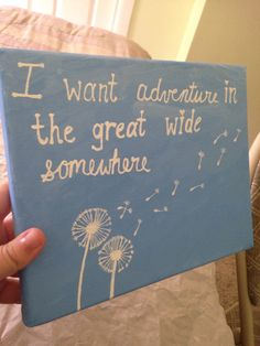 Disney quote painting / disney beauty and the beast by ToBeCrafted