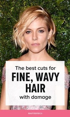 The best cuts for fine, wavy, damaged hair, according to celebrity hairstylist Bill Angst. wavy hair Ask a Hairstylist: The Best Cuts for Fine, Wavy Hair With Damage Frizzy Wavy Hair, Thin Wavy Hair, Thin Hair Cuts, Short Wavey Hair, Haircuts For Wavy Hair, Cool Haircuts, Cool Hairstyles, Casual Hairstyles, Pixie Haircuts