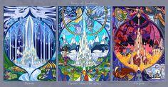 Gondolin picture Властелин Колец: рисунок - витраж