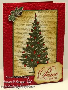 Peace on Earth by StampinChristy - Cards and Paper Crafts at Splitcoaststampers