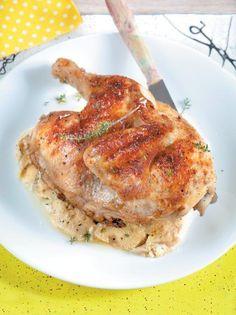 Κοτόπουλο στο φούρνο με γιαούρτι #κοτόπουλο
