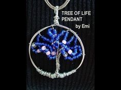 Learn how to make this tree of life pendant here: http://www.youtube.com/watch?v=pUVBjmQYAXU
