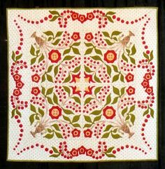Little Lily by Georgann Wrinkle (Houston, Texas) is a small version of Sue Garman's Lily Rosenberry pattern