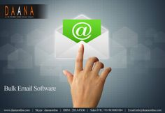 Bulk Emailing Software by Daana Software Developers