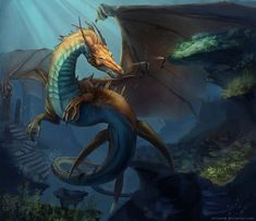 Sea Dragon by MilicaClk on DeviantArt