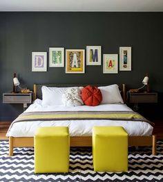 Une chambre pour passer une nuit en couleurs - Déco de la chambre : choisissez votre style - CôtéMaison.fr#diaporama#diaporama
