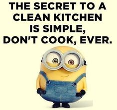 The secret to a clean kitchen