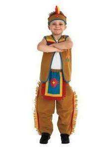 Déguisement enfant indien américain / American Indian kid costume