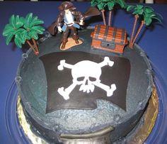 pirate cakes ideas | Fun Pirate Cake Ideas