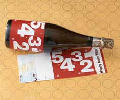 super cute free wine bottle printables from BHG