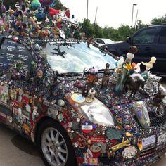 holy car art! wonder what their house looks like!
