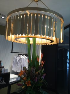 Beautiful huge gold metal chandelier at crownN gifts pic 1