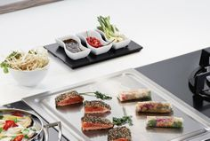 Japanküche für zu Hause mit dem Teppan Yaki Grill