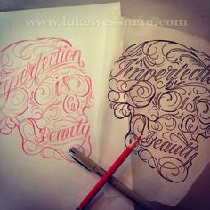 Feather Tattoo Designs: Tattoo Lettering and Scripts, word styles of tattoos