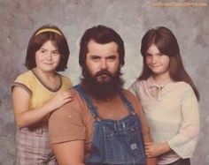 Dress up for family photo? I'm a lumberjack - this IS dressed up.