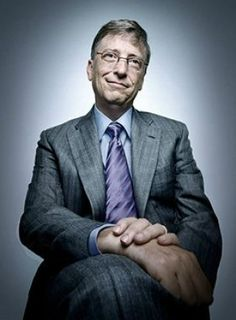 Bill Gates photographed by Platon