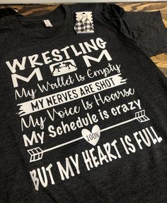 Smart Parenting Advice and Tips For Confident Children - Untinued Wrestling Mom Shirts, Wrestling Quotes, Wrestling Diet, Lamaze Classes, Thing 1, Mentally Strong, Comfortable Outfits, Sports Shirts, Parenting Advice