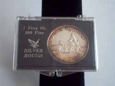 Harley Davidson .999 Fine Silver Dollar Round Coin by pasttimejewelry, $44.00
