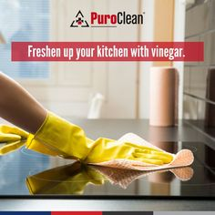 When your kitchen has pungent odors from seafood, onion, etc., follow this tip to get the stench out. Simply place three bowls of white vinegar around the kitchen and allow them to absorb the smell for six to twelve hours. House Cleaning Tips, Cleaning Hacks, White Vinegar, Clean House, Seafood, Onion, Bowls, Kitchen, Sea Food