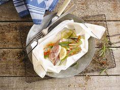 Un poisson en papillote avec Alpro Soja Cuisine