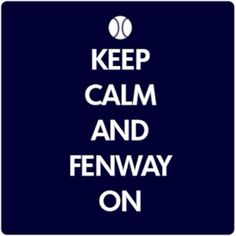 Keep Calm And Fenway On T-Shirt From Chowdaheadz. A great design for any diehard Red Sox fan! Red Sox Baseball, Better Baseball, Baseball Games, Baseball Season, Boston Sports, Boston Red Sox, Boston Bruins, Red Sox Nation, Boston Strong