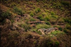 on those abandoned villages across the river, the bane of Himalayan hamlets of yesteryear , the valleys of Yamuna basin, near Purola, Uttarakhand, May '16…