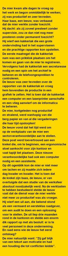 De mier kwam alle.. - Zieer.nl