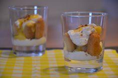 Sweet Desserts, No Bake Desserts, Sweet Recipes, Delicious Desserts, Dessert Recipes, Lemon Tiramisu, Tiramisu Recept, Lemon Curd Dessert, Ice Cream Pies