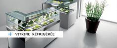 Vitrine réfrigérée, matériel frigorifique et matériel pour restauration.