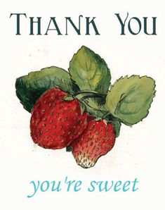 Free Printable Vintage Thank You cards