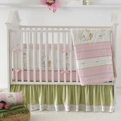 Fairyland 3 Piece Crib Bedding Set