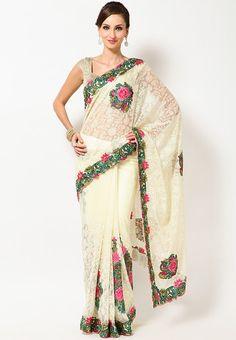 party #Saree - #SAREES - #jabongworld #indianethnic #ethnic #indiansarees