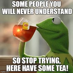 But Thats None Of My Business Meme | SOME PEOPLE YOU WILL NEVER UNDERSTAND SO STOP TRYING, HERE HAVE SOME TEA! | image tagged in memes,but thats none of my business,kermit the frog | made w/ Imgflip meme maker