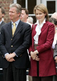 Queen Mathilde and King Philippe of Belgium