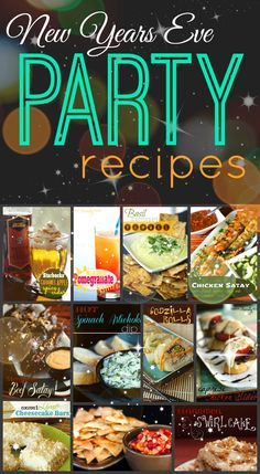 We have put together a tasty list of recipes for New Years Eve, enjoy one last night of fantastic food before the New Years resolutions begin! from favfamilyrecipes.com