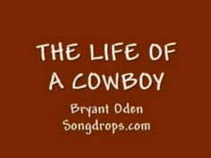 The Cowboy Song: A  funny song by Bryant Oden Cowboy Song, Funny Songs, Youtube Songs, School Videos, Western Theme, Kids Videos, Happy Trails, Kids Songs, Music Songs
