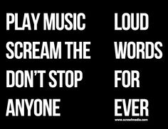 Loud Words For Ever #Quotes