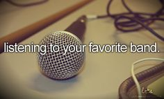 Favorite bands like imagine dragons, the script, paper route, fall out boy, panic! at the disco and one republic for starters