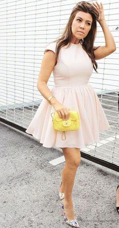 Cleverly Chic -Style Profile: Kourtney Kardashian